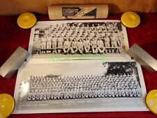 WWII 1940s Panoramic Photos CAMP WOLTERS TEXAS Co B 51st Infantry Training Btln