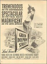 "1947-Vintage Movie Ad`""Green Dolphin Street"" Lana Turner, Donna Reed (022215)"