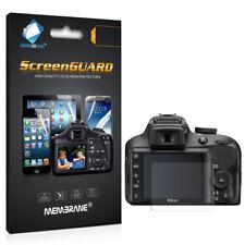 3 x NUOVO FRONT HD chiaro display LCD Schermo Protettore Pellicola Lamina Per Nikon D3400
