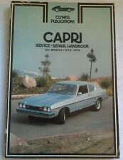 CLYMER SERVICE REPAIR HANDBOOK FOR FORD CAPRI 1970-74