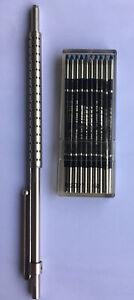 """Lamy🇩🇪Kugelschreiber""""Spirit""""Model 261 Palladium matt Design:WOLFGANG FABIAN.RR"""