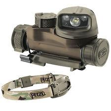 Petzl STRIX IR infrarouge militaire chef torche casque Camo de lampe de poche lumière MOLLE