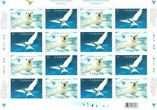Canada Scott # 2327a Polar Preservation Uncut Stamp Sheet MNH