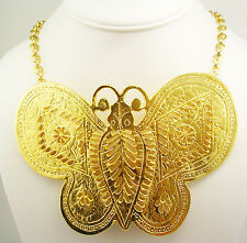 """Kenneth Jay Lane """" In Time"""" Butterfly Necklace  """" Made in the USA"""""""