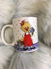Suzy's Zoo Collectible Mug 32001 Suzy's Pansy Bouquet Coffee Tea Cup