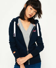 Superdry ZIPPER Ladies Orange Label Primary Eclipse Navy M
