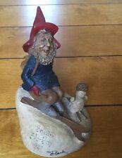Skibo 1987~Tom Clark Gnome-Figurine~Cairn Studio Retired~Ed #66. Signed