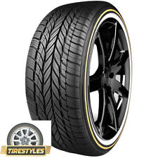 (4) 245/45VR18 VOGUE TYRE WHITE/GOLD  245 45 18 TIRE TIRES