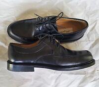 MEZLAN Spain Handmade Black Leather Dress Shoes  8 Wide