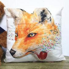 FOX Printing DIY Sofa Bed Home Decor Pillow Case Cushion Cover45/45cm