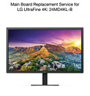 "LG UltraFine 4K 23.7"" 24"" 24MD4KL-B Main Board Repair Service New Replacement"