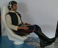 STAR WARS. Asiento de Han Solo Halcón Milenario. 1/6 Custom. 3D - No SIDESHOW