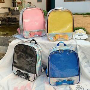 Japanese Lolita Itabag PU Laser Backpack Shoulder bag Kawaii Girl's Schoolbags N