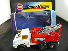 Matchbox Super Kings K14 Breakdown truck SHELL neuf en boîte / boxed MIB