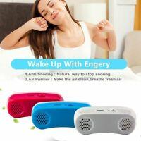 Electric Mini MiCPAP Anti Snoring Device for Sleep Apnea Stop Snore Aid Stopper