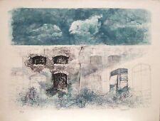 Renzo Vespignani  litografia cm.80x60 CON SCONTO, per piccolo difetto...