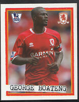 Merlin Football Sticker - Kick Off 2007-08 - No 148 - Middlesbrough - Boateng
