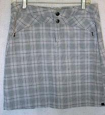 Royal Robbins Snap & Zip 2 Pocket Outdoor Skirt Size 8