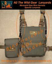 "N2 The Wild Gear Lanyards Marsupial Bino Harness Specific ""Lanyards"" (3 colors)"