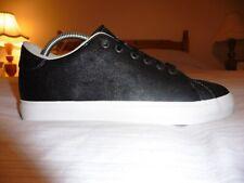 Adidas Rod Laver Clean Vulc Low Shoes (UK 8 / US 8.5 / EUR 42) (Black/White)