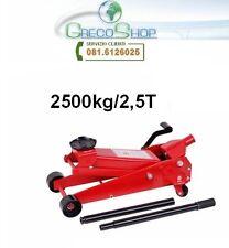 Cric/Sollevatore/Martinetto idraulico a carrello 2,5T/2500Kg con pedale