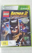Lego Batman 2 DC Super Heroes Xbox 360 (NEW)