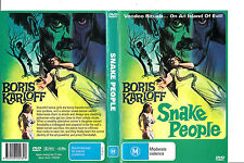 Snake People-1968-Boris Karloff- Movie-DVD