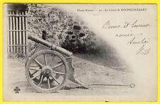 cpa 87 - Le CANON de ROCHECHOUART (Haute Vienne) Révolution 14 Juillet Dos 1900
