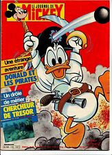 le journal de mickey - numero 1720 - juin 1985
