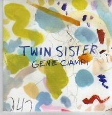 (CB28) Twin Sister, Gene Ciampi - 2011 DJ CD