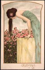 Raphaël Kirchner.  Légendes. Dell'Aquila E.6-6. 1903