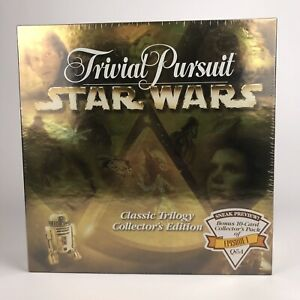 Trivial Persuit STAR WARS Classic Trilogy Collector's Edition Game - New/Sealed
