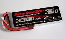 RoaringTop LiPo Battery Pack 35C 3300mAh 3S 11.1V with Deans Plug