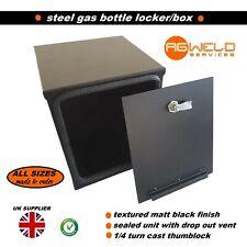 CAMPERVAN GAS BOTTLE BOX SAFETY LOCKER FOR CAMPINGAZ 907 BOTTLES VW T4 T5 T6