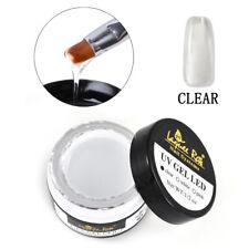 Clear/Pink/White Quick Builder Gel Nail Art Building Extension UV Gel Glue 30ml