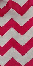 **SALE**Baby Cot Crib Rail Cover Teething Pad pink Chevron padding