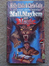 MALL MAYHEM & MAGIC BY HOLL LISLE & CHRIS GUIN 1995 PAPERBACK BOOK
