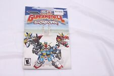 Playstation 2 PS2 - SD Gundam Force: Showdown - Instruction Manual Only