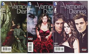 Vampire Diaries #1 - 6  Complete Set  avg. NM+ 9.6  DC  2014  No Reserve