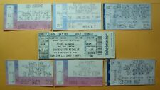 Lot *Used Rock Concert Tickets*Plant Ozzy Dylan/Mitchell/Van Morrison Fogerty