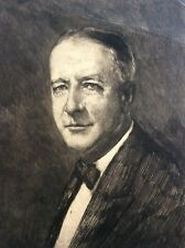HERMANN STRUCK (1876-1944), Large Etching , Portrait, Signed, Numbered 54/100