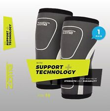 Zoma 7mm Neoprene KNee Sleeves w/ Support+ Technology, 1 Pair, Large