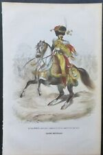 1 ILLUSTRATION OF NAPOLEON'S SOLDIERS IN COLOR, Le Prince EUGENE..