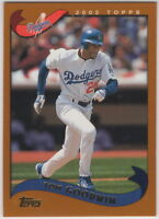 2002 Topps Baseball Los Angeles Dodgers Team Set