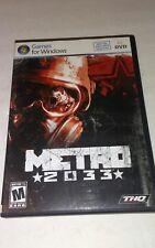 Metro 2033  PC Game (Windows 7/Vista/XP)