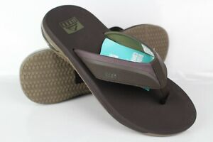 Reef Men's Anchor Sandals Flip Flop Size 10 Brown