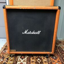 Vintage 1986 Marshall JCM800 Lead ORANGE 4x12 Guitar Cabinet w Celestion G12T-75