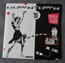 Petula Clark, downtown '88 / downtown, SP - 45 tours