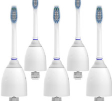 Replacement Toothbrush Heads Smile Sonic 5 Count Bristles Fade Indicate NEW.