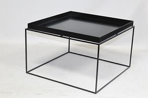 Hay Tray Table Beistelltisch Couchtisch Tisch quadratisch 60x60cm H35cm schwarz